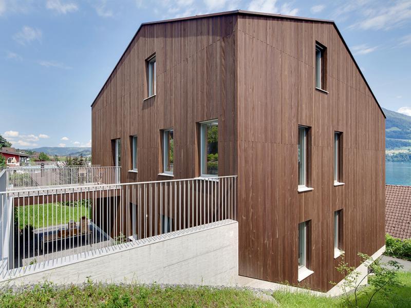 Isofloc neubau einfamilienhaus merlischachen for Neubau einfamilienhaus