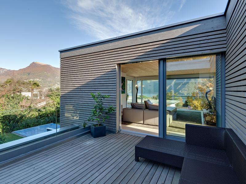 Isofloc neubau einfamilienhaus sorengo for Neubau einfamilienhaus