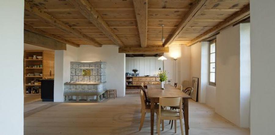 isofloc ein altes bauernhaus mit neuem glanz. Black Bedroom Furniture Sets. Home Design Ideas