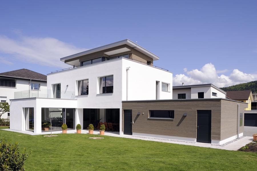 Isofloc neubau einfamilienhaus wangen for Neubau einfamilienhaus