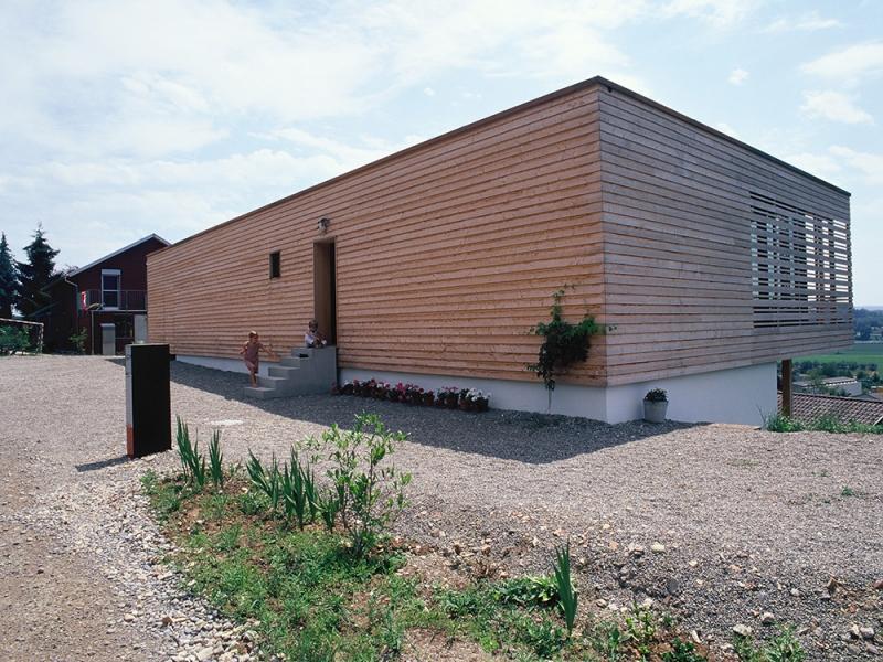 Isofloc construction d 39 une maison individuelle h ttwilen for Construction d une maison individuelle